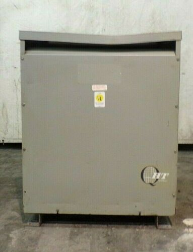 GENERAL ELECTRIC TRANSFORMER , 60 KVA , 480 PRIMARY , 240 SECONDARY
