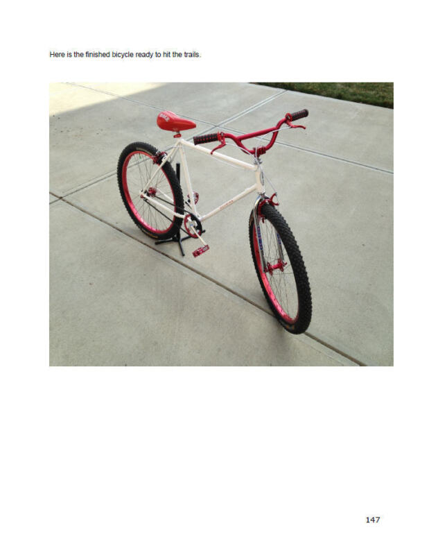 Build Your Own Klunker Vintage Schwinn Murray Bicycle Repair Parts Book on CD