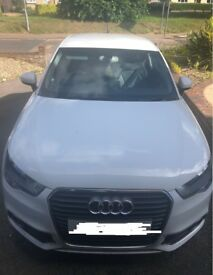 Audi A1 White Automatic Sport 12 Plate