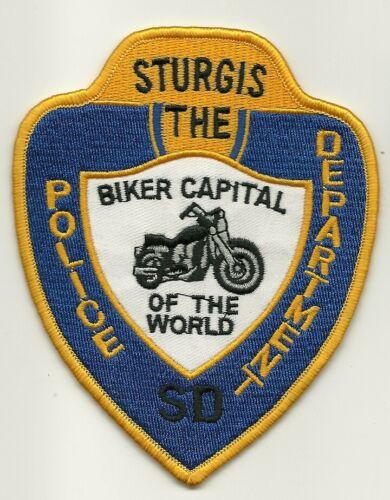 Biker Capital of the World Sturgis Police State South Dakota O/S SD