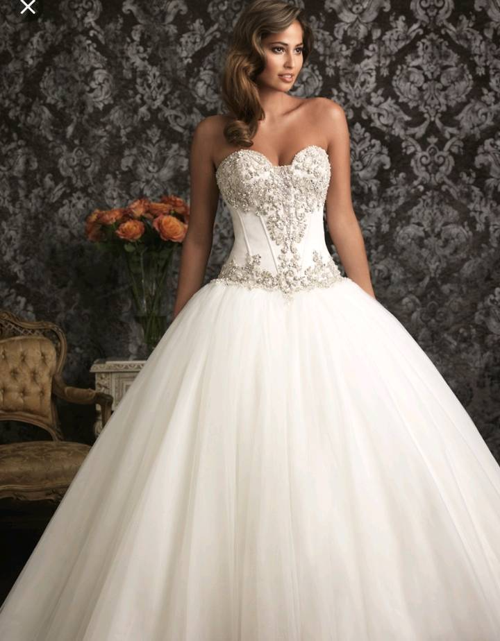 Allure bridal ball gown wedding dress size 10 | in Olton, West ...