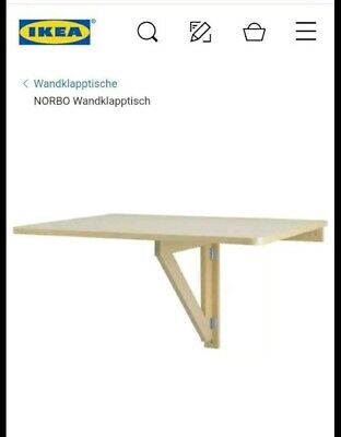 Norbo Wandklapptisch Ikea gebraucht kaufen  Bellers