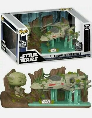 Star Wars 2020 Galactic Convention Funko Pop! A Lesson In The Force Yoda X-Wing