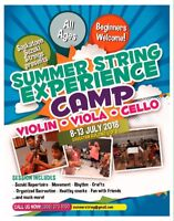 Summer String Experience 2018