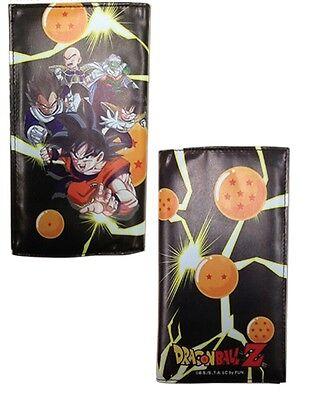 Dragon Ball Dbz Wallet Long Dragonball Goku Vegeta Gohan Group Licensed Dbs New (Dbz Gohan)