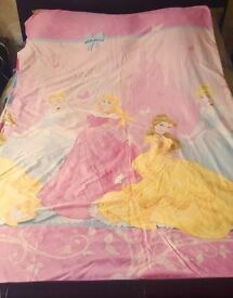 Single Duvet and Single Disney Princess Duvet Cover and Pillowcase