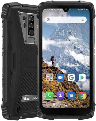 5,84'' Blackview BV6900 Outdoor Smartphone Ohne Vertrag 4GB+64GB IP68 Handy 16MP