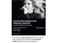 * ELLIE GOULDING TICKETS, ALBERT HALL *