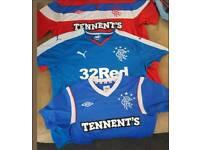 Rangers tops plus flag