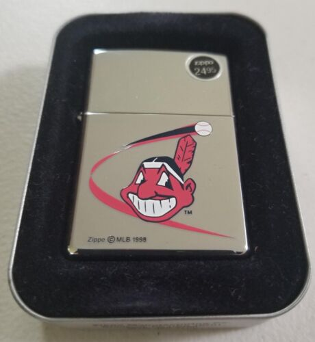 ZIPPO Cleveland Indians Chief Wahoo 1999 LIGHTER
