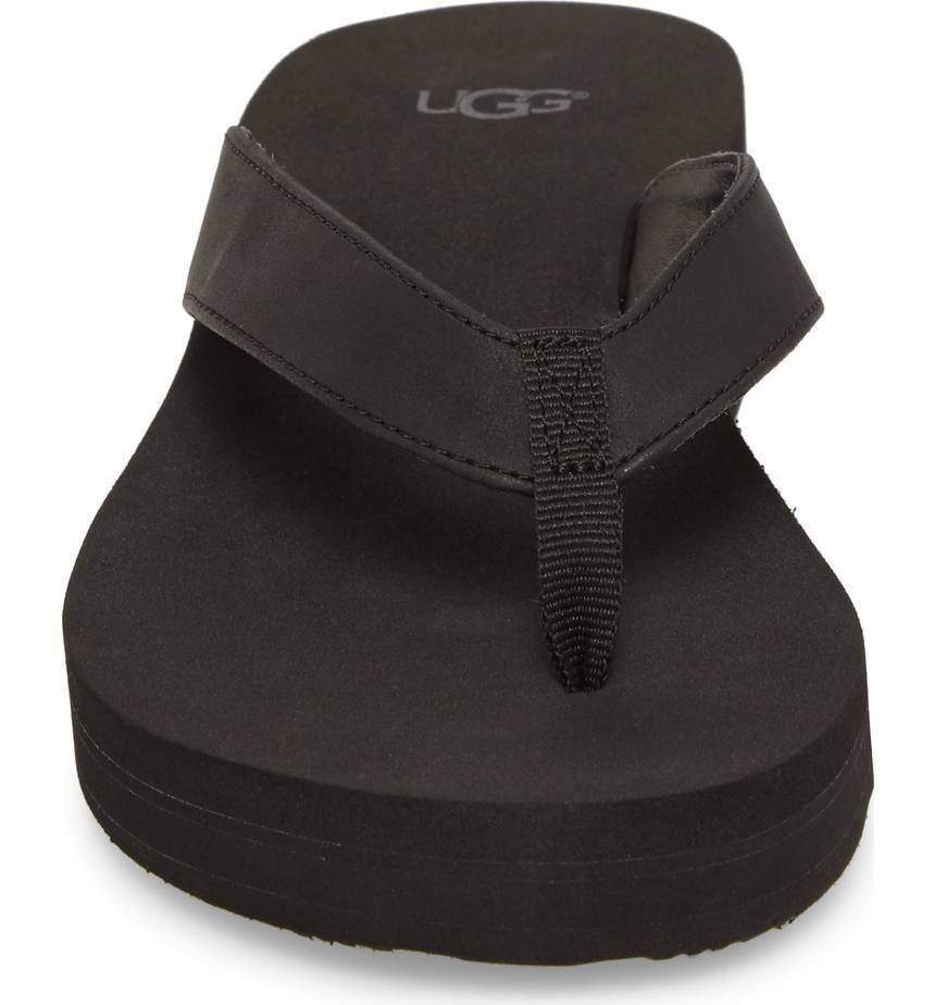 New UGG Women Dani Wedge Beach Flip Flop Sandals Shoes  Heel
