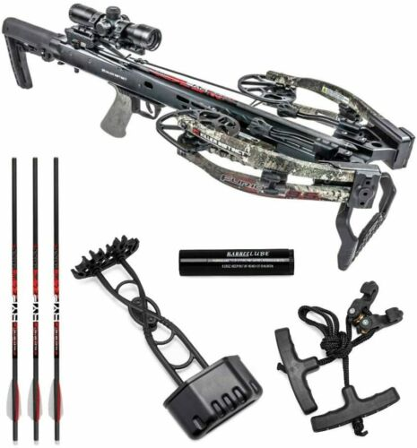 New Killer Instinct Furious Pro 9.5 400 FPS Crossbow Pro Package with IR Scope