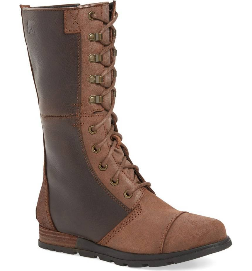 Sorel Major Maverick Mid Calf Zip Boots Combat Zipper Bootie