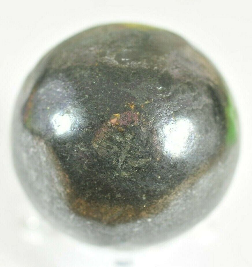 HAND-CRAFTED CUPRITE & BORNITE GEMSTONE BALL SPHERE - CONGO - 4.6 cm dtr 274 gms