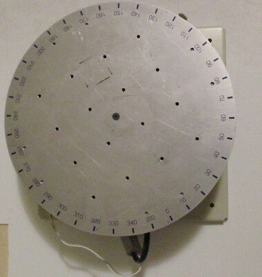 Arrick Robotics 12 Inch Rotary Positioning Table Model Rt-12 With Motor