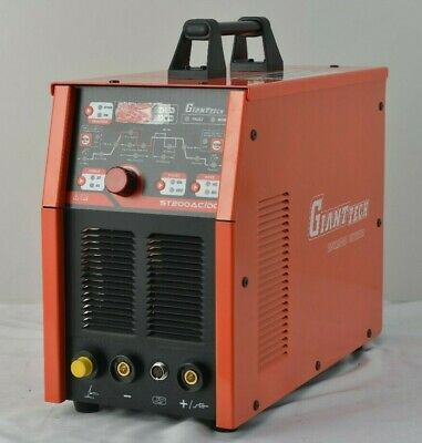 New Gianttech Digital Tig 200 Acdc 200 Amp Tigstick Welder With Pulse Ck 17