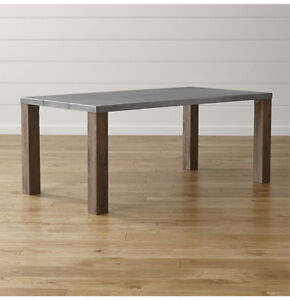 Crate and Barrel Galvin Dining table