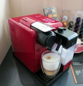 Nespresso Latissima Touch in red for sale rrp £169.99