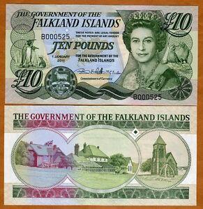 Falkland-Islands-10-pounds-2011-2012-P-New-QEII-UNC-Low-S-Ns