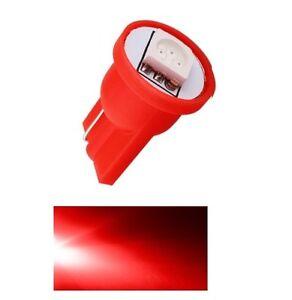 DE-LA-LUZ-UBICACIoN-LED-ROSSO-T10-SMD-5050-bombilla-coche-6000K-12V-W5W-rojo
