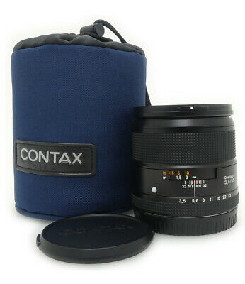 CONTAX 645 Carl Zeiss Distagon 55mm F3.5 T* Lens Mint