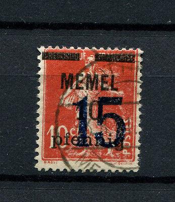 MEMEL STEMPEL CROTTINGEN TYP 2 AUF NR 34 D1379