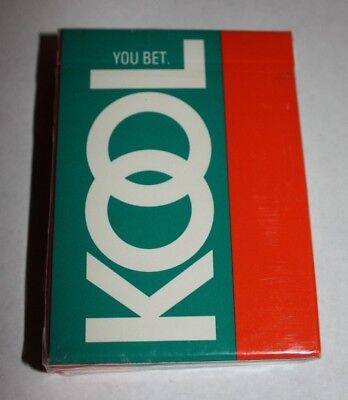 KOOL CIGARETTE ADVERTISING DECK OF PLAYING CARDS  ()