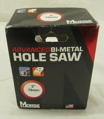 Mk Morse Mhs48 3 Bi-metal Hole Saw Open Box