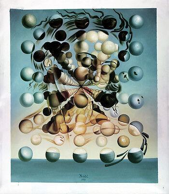 Ölbilder Ölgemälde Gemälde Galatea of the spheres 1 von Salvador Dali  60 x 80cm