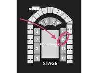 2 Seated x Billie Eilish HAPPIER THAN EVER Tour Utilia Arena Birmingham, UK