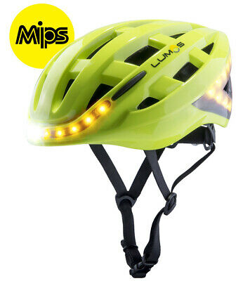 LUMOS Kickstart MIPS Casco Bicicleta Eléctrica LED Bliker Luz de Freno Lima