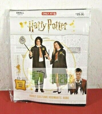 Halloween Costumes Dress-up Adult Harry Potter Hogwarts Robe Costume Small