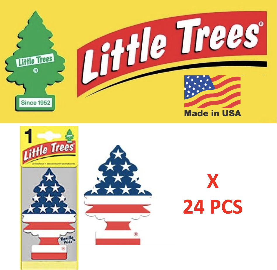Freshener  Vanilla Pride 10945 Little Trees MADE IN USA Pack