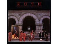 RUSH 1981 Moving Pictures Tour Concert Programme - Scarce Item