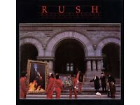 RUSH 1981 Moving Pictures Tour Concert Programme - RARE