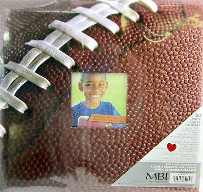 Acid Free Page Protectors (MBI Sports Football Scrapbook Album 12