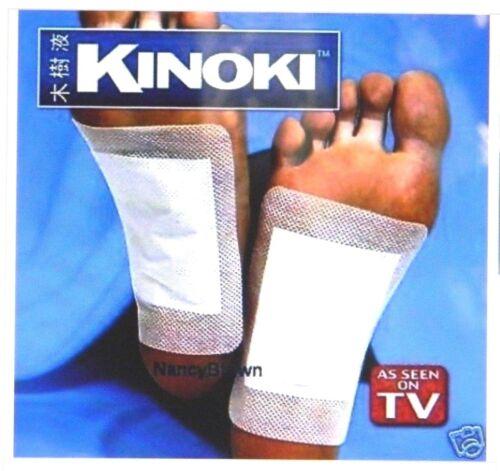 10 KINOKI Detox Foot Pads Patches Body Heart Health Sleep Energy Christmas Lot