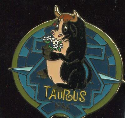 Zodiac POM Series April 2001 Taurus Ferdinand LE Disney Pin 4556