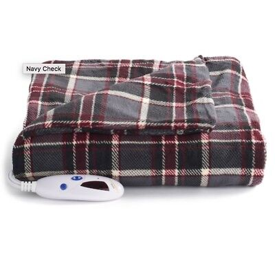 NEW Biddeford MICRO PLUSH Electric Heated Throw Blanket