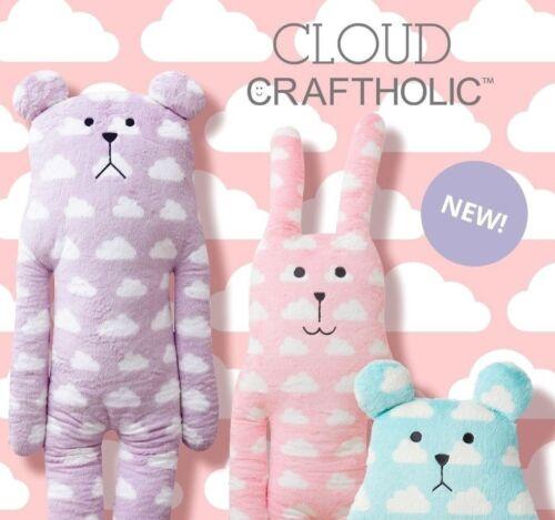 Large Clouds CRAFTHOLIC Plush Pillow Soft Doll - Sloth Bear / Rab Bunny - Size L