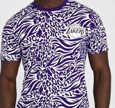LA Lakers New Era NBA T-shirt Men's Size Large - Brand New...