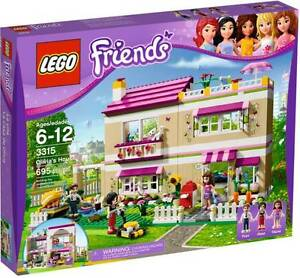 LEGO-Friends-3315-Olivias-House-NEW-IN-BOX-Expedited-Shipping