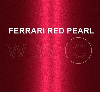 SPRAY CAN FERRARI RED PEARL HEAT RESISTANT PAINT BRAKE CALIPER ENGINE Proof HOT