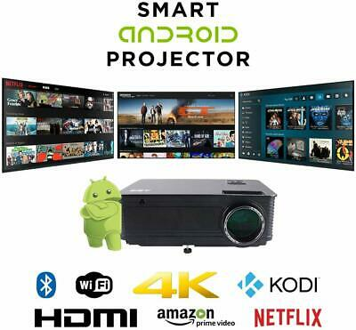 REFURBISHED ABIS HD6K 4th Generation Fulll HD WiFi LED SMART Android 6 Projector