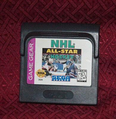 NHL All-Star Hockey Sega Sports Game Gear