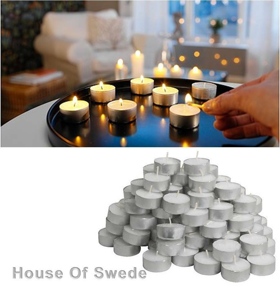 tealight tea light candle white wedding party occasion candles bulk. Black Bedroom Furniture Sets. Home Design Ideas