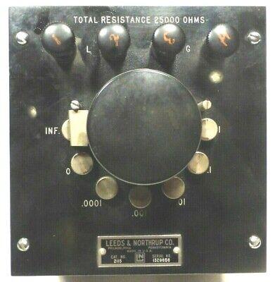 Vintage Leeds Northrup Ayrton Shunt To Increase Galvanometer Range - Working