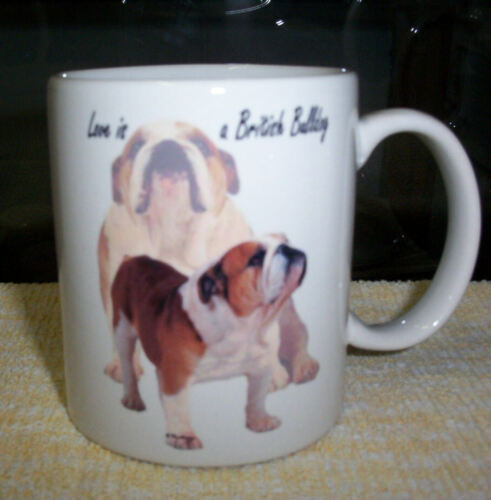 British Bulldogs coffee mugs ( 5 different designs to choose from )