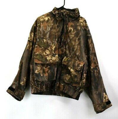afb2072d5463f Browning Hydro Suede Mens Size XLarge Camo Long Sleeve Hunting Outdoor Coat