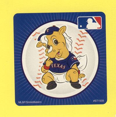 15 Texas Rangers Mascot - Large Stickers - Major League - Texas Rangers Party Supplies